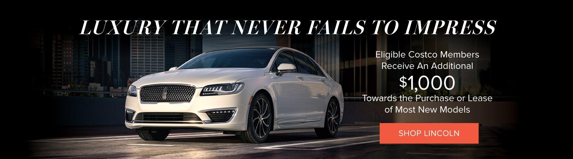 2018 Lincoln Sales Event