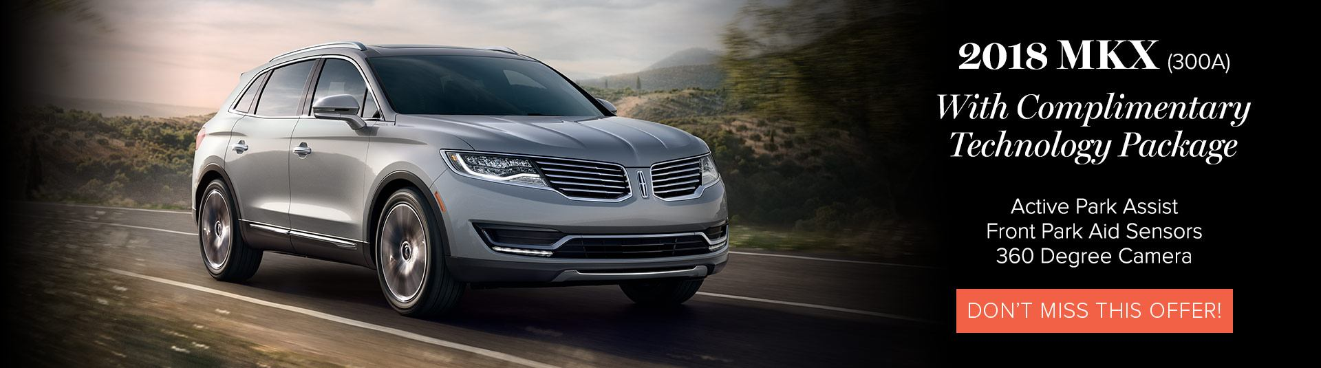 Lincoln MKX Offers
