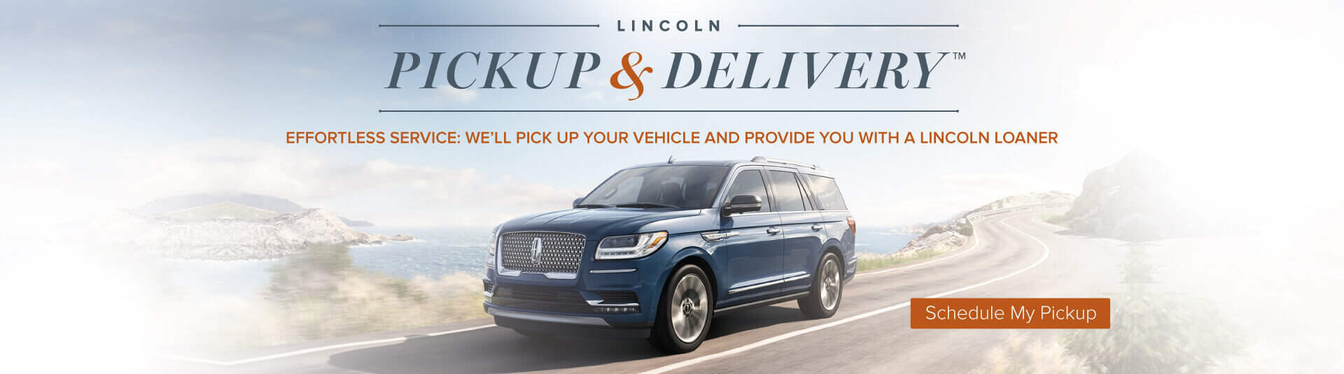 Lincoln Pickup and delivery service