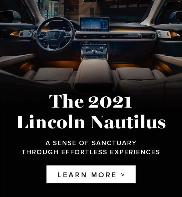 Bayfield Lincoln Barrie 2021 Nautilus