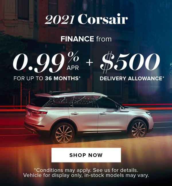 Lincoln 2021 Corsair offer in Barrie